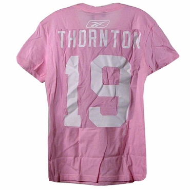 CCM 4962 Player Short Sleeve Hockey Shirt - Boston Bruins - Thornton - Women