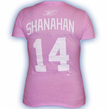 CCM 4962 Player Short Sleeve Hockey Shirt - Detroit Red Wings - Shanahan - Women