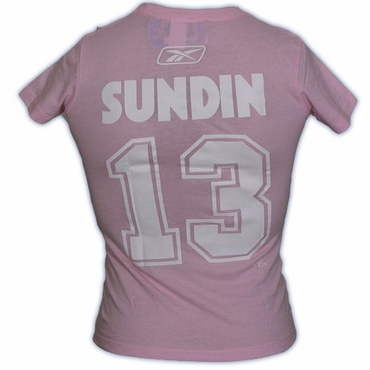 CCM 4962 Player Womens Short Sleeve Hockey Shirt - Toronto Maple Leafs - Sundin