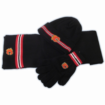 CCM 5054 Fashion Senior Hockey Knit Set - Calgary Flames