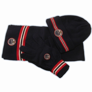 CCM 5054 Fashion Senior Hockey Knit Set - Edmonton Oilers