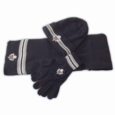 CCM 5054 Fashion Senior Hockey Knit Set - Toronto Maple Leafs