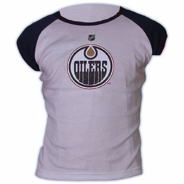 CCM 5164 Player Short Sleeve Hockey Shirt - Edmonton Oilers - Hemsky - Women