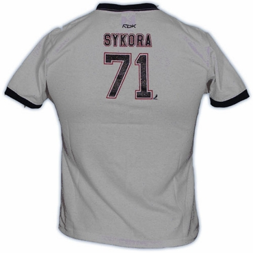 CCM 5165 Player Womens Short Sleeve Hockey Shirt - Edmonton Oilers - Sykora
