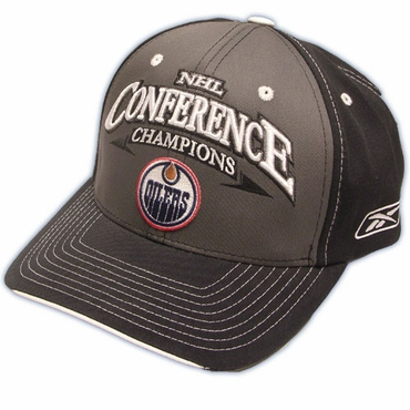 Reebok 5184 Locker Room Hockey Hat - Edmonton Oilers - Senior