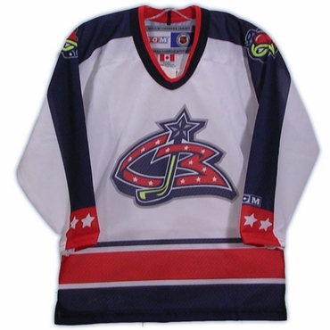 CCM 5200 Replica Hockey Jersey - Columbus Blue Jackets - Toddler