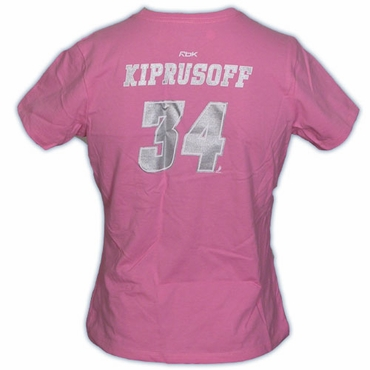 CCM 5395 Player Womens Short Sleeve Hockey Shirt - Calgary Flames - Kiprusoff
