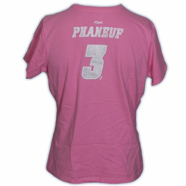 CCM 5395 Player Short Sleeve Hockey Shirt - Calgary Flames - Phaneuf - Women
