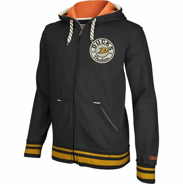 CCM Full Zip Hoodie - Anaheim Ducks - Senior
