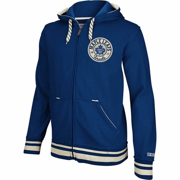 CCM Full Zip Senior Hoodie - Toronto Maple Leafs