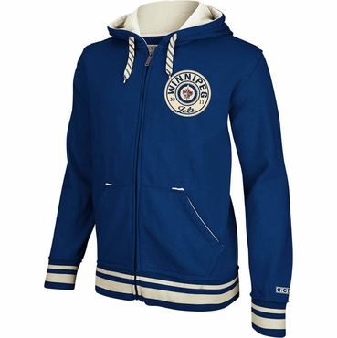 CCM Full Zip Senior Hoodie - Winnipeg Jets