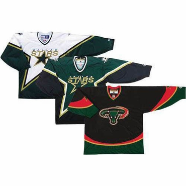 CCM/KOHO 550 Junior Replica Hockey Jersey - Dallas Stars