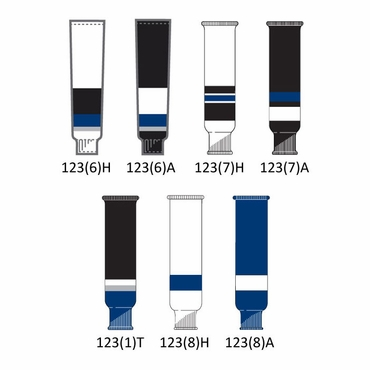 CCM NHL Team Hockey Socks - Tampa Bay Lightning - Senior