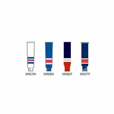CCM NHL Team Junior Hockey Socks - New York Rangers