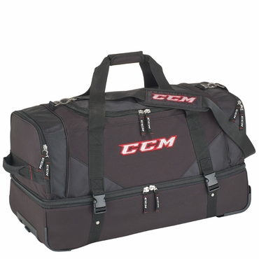 CCM Officials Wheeled Hockey Bag