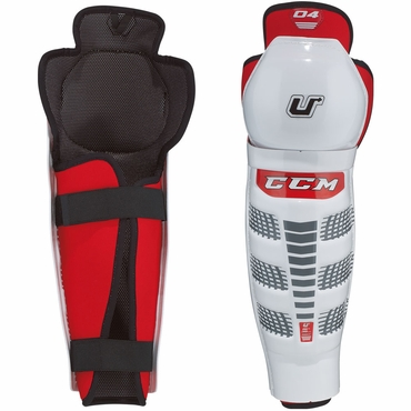 CCM U+04 Junior Hockey Shin Guards