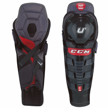 CCM U+12 Junior Hockey Shin Guards