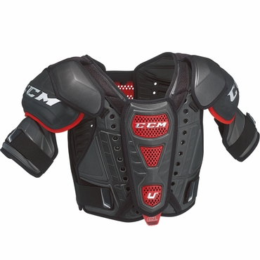 CCM U+ Crazy Light Junior Hockey Shoulder Pads