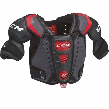 CCM U+ Crazy Strong Senior Hockey Shoulder Pads
