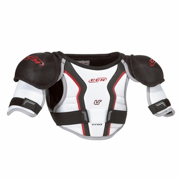 CCM U+ Fit03 Youth Hockey Shoulder Pads
