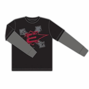 Easton Gothic Senior Long Sleeve Hockey Shirt