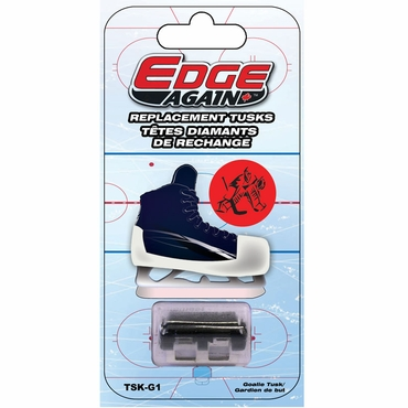 Edge Again Replacement Tusk for Manual Hockey Goalie Skate Sharpener