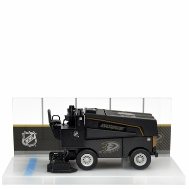 Fan Fever 1:43 Carbon Zamboni Hockey Replica - Anaheim Ducks