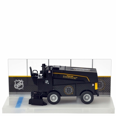Fan Fever 1:43 Carbon Zamboni Hockey Replica - Boston Bruins