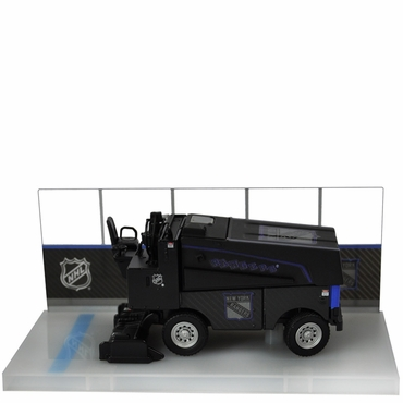 Fan Fever 1:43 Carbon Zamboni Hockey Replica - New York Rangers