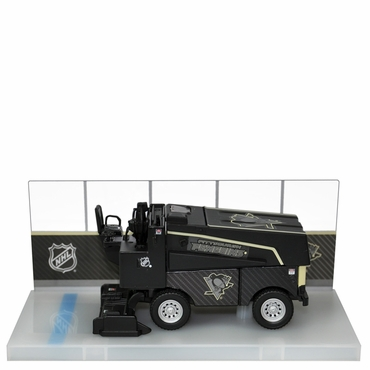 Fan Fever 1:43 Carbon Zamboni Hockey Replica - Pittsburgh Penguins