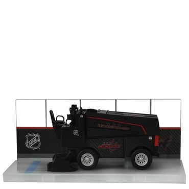 Fan Fever 1:43 Carbon Zamboni Hockey Replica - Washington Capitals