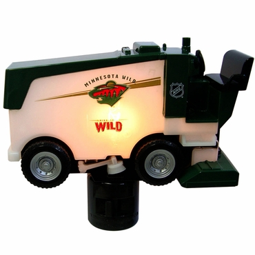 Fan Fever Zamboni Hockey Night Light - Minnesota Wild