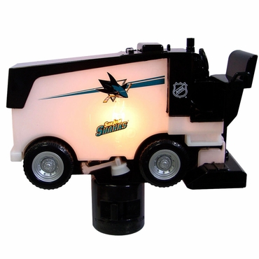 Fan Fever Zamboni Hockey Night Light - San Jose Sharks