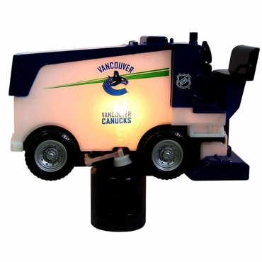 Fan Fever Zamboni Hockey Night Light - Vancouver Canucks