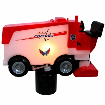 Fan Fever Zamboni Hockey Night Light - Washington Capitals
