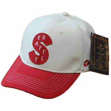 Firstar Heritage Senior Snap Back Hockey Hat - Seattle Metropolitans