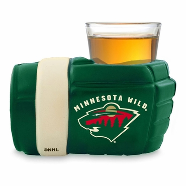 Game On Glove Wrist Shot Mini Hockey Glove - Minnesota Wild