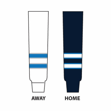 Gladiator Cut Resistant Senior Hockey Socks - Winnipeg Jets