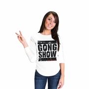 Gong Show Play for Crest Womens Long Sleeve Shirt