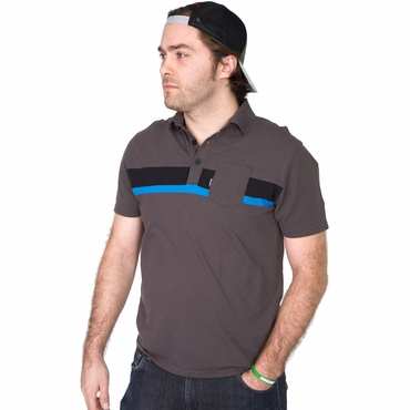 Gongshow Fill The Hole Senior Polo Hockey Shirt