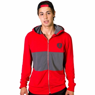 Gongshow Send a Message Senior Full Zip Hockey Hoodie