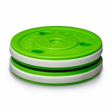 Green Biscuit Pro Off-Ice Practice Puck