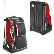 Grit HT1 Wheeled Tower Hockey Bag - Large - Chicago Blackhawks