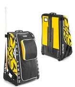 Grit HT1 Wheeled Tower Hockey Bag - Medium - Boston Bruins