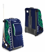 Grit HT1 Wheeled Tower Hockey Bag - Medium - Vancouver Canucks - 2012