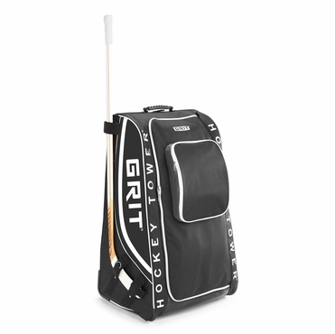 Grit HTHG Tower Wheeled Hockey Bag - 33 Inch - Black
