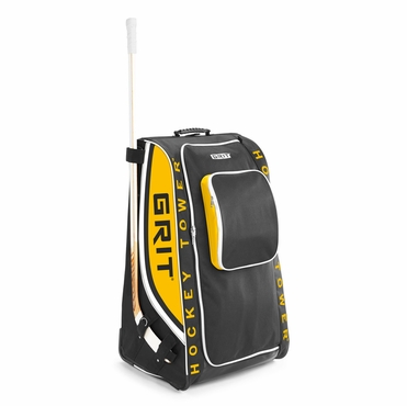 Grit HTHG Tower Wheeled Hockey Bag - 36 Inch - Boston
