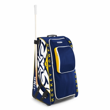 Grit HTSE Tower Wheeled Hockey Bag - 36 Inch - Buffalo