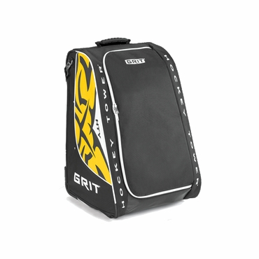 Grit HTY Tower Youth Wheeled Hockey Bag - Boston Bruins