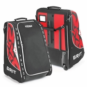Grit HTY Tower Youth Wheeled Hockey Bag - Chicago Blackhawks